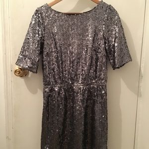 Madewell Broadway & Broome Sequin Last Dance Dress